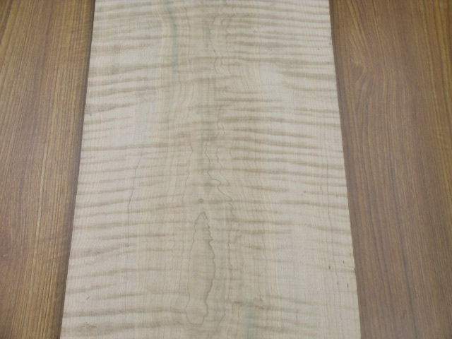 curly maple natural one of a kind